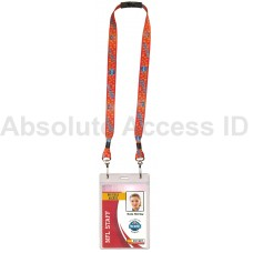 Sports Event Lanyard with Dual Hooks