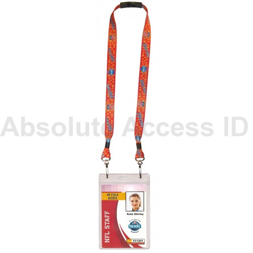 Best price on sports event lanyards at Absolute Access ID