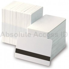 Magicard M9006-794A, 30 Mil CR80 PVC Cards w/HiCo Mag Stripe (500 Pack)