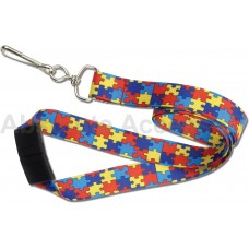 "Autism Puzzle Lanyard 3/4"" (100 Qty)"
