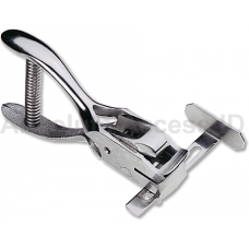 Hand Held ID Card Slot Punch w/Adjustable Guide