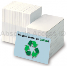 Recycled Plastic CR80 30mil Cards