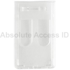 Frosted, Badge Holder with Access Card Dispensers (50 Qty)