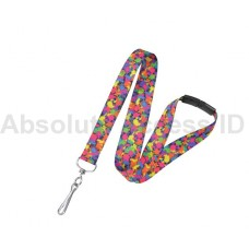 Paint Splatter Break-Away Lanyard - 100 per pack