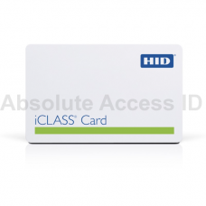HID iCLASS + Prox Contactless Card, 2k