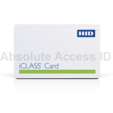 HID iCLASS + Prox Contactless Card, 32k