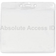 BADGE HOLDER, EXTRA LARGE CLEAR