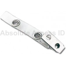 "STRAP CLIP, CLEAR, 2-3/4"" (70MM) (500 Qty)"