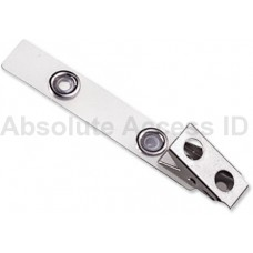 "STRAP CLIP, CLEAR, 2-3/4"" (70MM), MYLAR STRAP (100 Qty)"