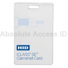 HID 3350 iClass SE Clamshell Card