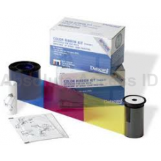 Datacard 534100-001-R003 Color Ribbon & Cleaning Card