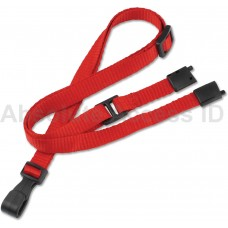 Adjustable Lanyard Red (100 Qty) Series