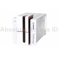 Evolis Primacy Dual Sided ID Card Printer w/GEMPC USB-TR SMART CARD ENCODER, PM1H0T00RD